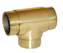 1-1/2in Flush T-90 Deg POL BRASS