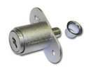National Cabinet Lock N8043 26D 420 Plunger Lock 1in Mat DULL CHROME