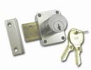 National Cabinet Lock N8173 26D 107 Door Lock-Pin Tumb 7/8 Cyl DULL CHR