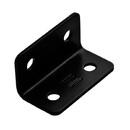 1.6X3 Wide Corner Brace BLACK