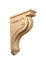 9x13 Scroll Corbel Carving MAPLE