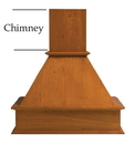 31 Tall Chimney f/36 Wide Hood MA