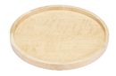 10in Round Wood Tray w/ALUM Swivel