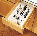 Cutlery Tray 11-1/2in W Gloss White