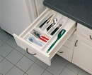 Cutlery Tray 14-1/2in W Gloss White