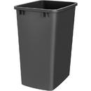 35Qt Waste Bin Only BLACK
