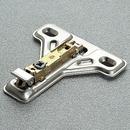 4mm FF Plate 1-Cam Steel Screw-on