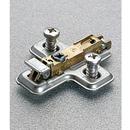 Salice SABAVGL39F.16 3mm Plate 1-Cam Steel Screw-on