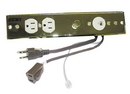 Harness 2 Outlet Phone Dimmer&Plate