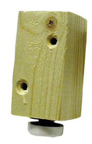 Base Leveler Leg Wood      , Price/EA