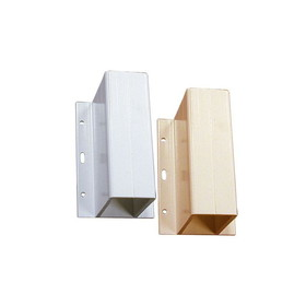 4in Center Partition Support WHITE, Price/SET
