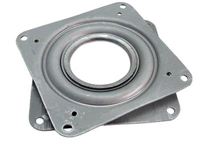 4in Square Bearing For Lazy Susan    , Price/EA
