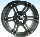 ITP 14SS411 14X8 4/137 (Ss212) 5+3 Rear Ss Alloy Black