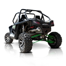 HMF HMFSSX-A1WC-F HMF Swamp Series XL Full System Single Canister Exhaust for Arctic Cat 1000 Wildcat (12-14)