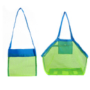 GOGO Beach Tote Foldable Shell Mesh Bag Stay Away from Sand, Large Size & Small Size