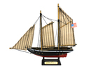 Handcrafted Model Ships America 7 Wooden America Model Sailboat Decoration 7
