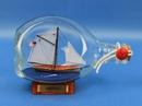 Handcrafted Model Ships America-Bottle America Sailboat in a Bottle 7