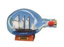 Handcrafted Model Ships Atlantic-B Atlantic Sailboat in a Glass Bottle 7