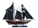 Handcrafted Model Ships B2804 Ben Franklin's Black Prince Limited 24