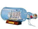 Handcrafted Model Ships Blue Flying Cloud Bottle Blue Flying Cloud Ship in a Bottle 11