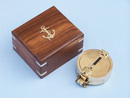 Handcrafted Model Ships CO-0580 Solid Brass Clinometer Compass 4