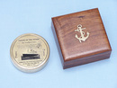 Handcrafted Model Ships CO-0653 - TIT Solid Brass RMS Titanic Compass 4