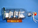 Handcrafted Model Ships Cutty Bottle Cutty Sark Ship in a Bottle 11