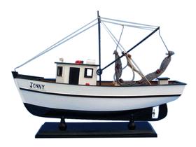 """Handcrafted Model Ships FB221- Jenny Forrest Gump - Jenny Shrimp Boat 16"""""""