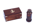 Handcrafted Model Ships FT-0240AC Deluxe Class Scout's Antique Copper Spyglass Telescope 7