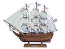 Handcrafted Model Ships HMS Beagle 14 Darwin's HMS Beagle 14