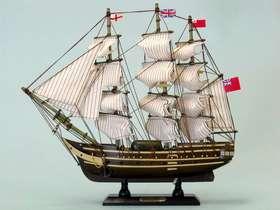 "Handcrafted Model Ships hmssurprise14 HMS Surprise 14"""