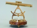 Handcrafted Model Ships LI-1521 Solid Brass Alidade Compass 14