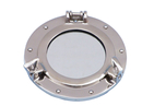Handcrafted Model Ships MC-1962-10 CH - W Deluxe Class Chrome Porthole Window 8