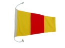 Handcrafted Model Ships Nautical-Flag-0 Number 0 - Nautical Cloth Signal Pennant - 20