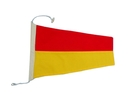 """Handcrafted Model Ships Nautical-Flag-7 Number 7 - Nautical Cloth Signal Pennant - 20"""""""
