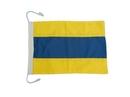 "Handcrafted Model Ships Nautical-Flag-D Letter D Cloth Nautical Alphabet Flag - 20"""