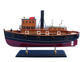 Handcrafted Model Ships FB-203 River Rat Tugboat