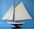 Handcrafted Model Ships Sloop 3 - 40 Bermuda Sloop 40