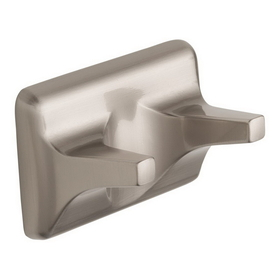 Harney Hardware 12532 Double Robe Hook, Sea Breeze Bath Collection, Satin Nickel, Price/each