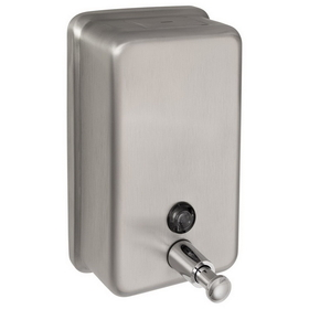 Harney Hardware 19058 Commercial Liquid Soap Dispenser, ADA Compliant, Vertical, 40 Oz. Capacity, Price/each
