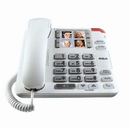 RCA 1123 Amplified Big Button Corded Speakerphone with Photo Memory Buttons