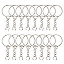 Aspire 100 PCS Split Key Ring with Chain, Key Chain Parts
