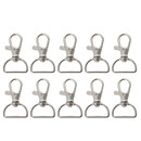 Aspire 50 PCS Swivel Lobster Clasps with D-ring End (42mm)