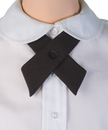 TopTie Criss-Cross Tie, Girls' School Uniform Cross Tie