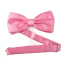 TopTie Mens Pretied Tuxedo Pink Bowtie Bow Tie, Breast Cancer Awareness Color