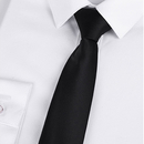 "TopTie Unisex New Fashion Black & White College Stripe Skinny 2"" Inch Necktie"