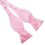 TopTie Mens Black Formal Self Tie Bow Tie