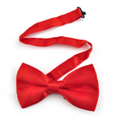 TopTie Mens Formal Solid Color Satin Banded Bow Tie, Christmas Gift Idea
