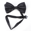 TopTie Mens Pretied Satin Tuxedo Bowtie Bow Tie, Adjustable Band