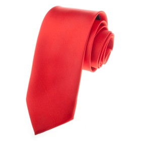 TopTie Mens Solid Neck Ties, Formal Necktie, Breast Cancer Awareness Color